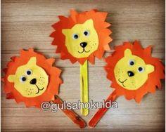 33 Best Lion Craft Idea For Kids Images Day Care Preschools Lion