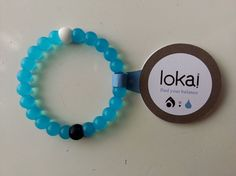 100% Authentic lokai bracelet http://www.ebay.com/itm/100-Authentic-Blue-Lokai-Bracelet-S-M-L-Mud-from-Dead-Sea-Water-From-Mt-Eve-/151827590877?ssPageName=STRK:MESE:IT