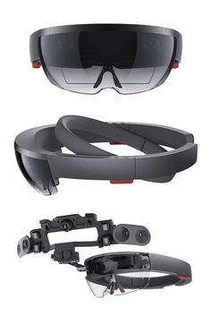 Microsoft HoloLens augmented reality headset hardware. More info  http://buyvr.tech #virtualreality