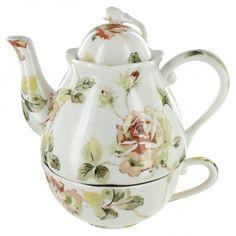 Rose Porcelain - Tea for One