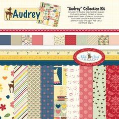 Nikki Sivils Scrapbooker Audrey Collection Kit $15.95