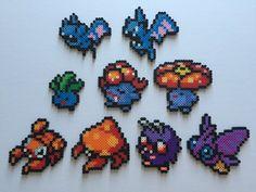 Pokemon Gen 1 41-49: Zubat Golbat Oddish Gloom by PixelPrecious