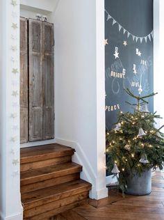 Nous sommes à un mois de Noël et il est temps pour moi de vous montrer   sur le blog quelques intérieurs, idées ou inspirations ...  q...