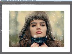 Photoshop – Vytvoření reálného sněžení ve fotografii