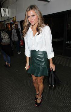 Zoe Hardman out and about in London Zoe Hardman, Tv Girls, Latex Girls, Couture, Beautiful Legs, Beautiful Actresses, Leather Fashion, Skirt Fashion, Catwalk