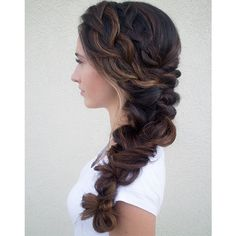 we ❤ this!  moncheribridals.com  #bridalbraids #weddingbraids