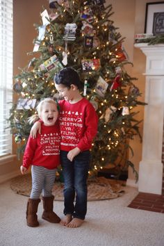 Funny silly toddler boy girl Christmas sweater | Story Kate ...