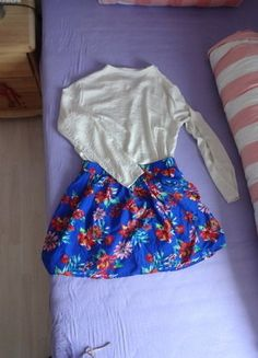 Zara, Apron, Patches, Fashion, Pattern Flower, Spinning Top, Mini Skirts, Reach In Closet, Fashion Women