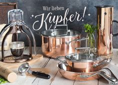 Ganz große Kupferliebe! Diese Küchenschätze von KitchenAid, Rok und Stelton stehen auf unserer Wunschliste ganz weit oben!