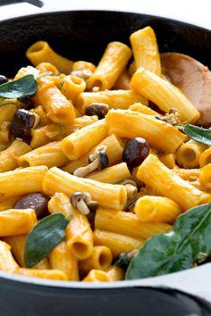 Vegan Pumpkin Mac & Cheese #glutenfree / Pasta Mac & cheese vegan Ricetta senza glutine alla zucca