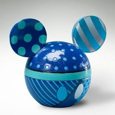 Britto Disney Mickey Mouse Head Box Blue