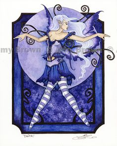 Amy Brown: Fairy Art - The Official Gallery  --  Dance (Robin)