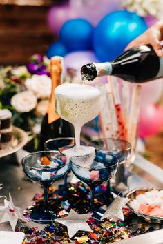 The Most Pinterest-Worthy NYE Dinner to Copy This Season - Ultra Violet NYE  - Tremaine Ranch - Arizona Wedding & Event, Vintage, Furniture, Tableware, & Specialty Rentals in AZ