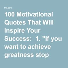 how to achieve great success speech
