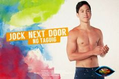 Pinoy Big Brother All Housemates photos - Axel Torres Jock-Next-Door Big Brother House, Listen To Song, Stress Busters, Next Door, Pinoy, Tv Shows, Two By Two, Abs, Entertaining