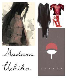 """Madara Uchiha"" by lexi-brannon-uta on Polyvore featuring Madara, Yves Saint Laurent and Giuseppe Zanotti"