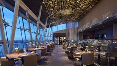 Ganz viel bester Blick – das neue Heritage Restaurant. Wundervolles Sky Restaurant an der Alster mit Sinn für Humor und Raffinesse