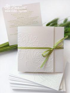#wedding #invitation | rose wedding invitation from www.violet-bg.com
