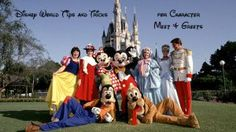 Disney World Tips and Tricks for Character Meet and Greets