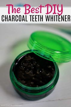 Activated Charcoal Teeth Whitening works great while being all natural. Homemade charcoal teeth whitener is easy to make and you will have a brighter smile. Try making your own teeth whitening toothpaste today! Activated Charcoal Teeth Whitening, Best Teeth Whitening Kit, Teeth Whitening Remedies, Teeth Whitening System, Natural Teeth Whitening, Brush Teeth With Charcoal, Teeth Stain Remover, Teeth Pictures, Emergency Dentist