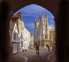 The Precinct, Canterbury Cathedral, Kent, England. Canterbury Kent, Canterbury Cathedral, Cathedral School, Cathedral Church, The Beautiful Country, Beautiful Places, Places To See, Places Ive Been, Dover Beach