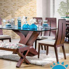 Que tu juego de comedor sea el centro de atención en tu hogar. ►http://ow.ly/YUazp