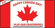 Jul Flyer Puzzle: Chance to #WIN a #Canada USB flash drive #WordSearch