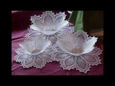 Técnica para endurecer tejido en crochet   Technique crochet tissue to harden   EliClau - YouTube