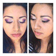 #arbonnemakeup purple eye shadow for brown eyes and medium to dark complexion