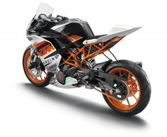 KTM RC390 - my new track bike - arrival this month.