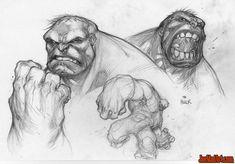 Wizard-Magazine-168-Ultimates-3-Hulk-sketch-madureira-pencil.jpg (1147×800)
