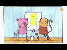 Big gaat kleine beer tekenen (digitaal prentenboek)
