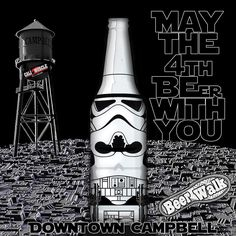 Downtown Campbell: The 2016 Downtown Campbell Beer Walk @thebeerwalk is tonight 5pm-9pm Come join Team Cali Muscle and have a great time  With over 30 different tasting locations  set up throughout the downtown strip for the community to mingle . Cheers Get your tickets now  & all the info at www.DowntownCampbell.com/tags/beer  #CaliMuscle #maythefourthbewithyou #StarWars #downtowncampbell #BayArea #Family #beerwalk #workhardplayharder #Supportlocal #historiccampbell #Beer #Festival…