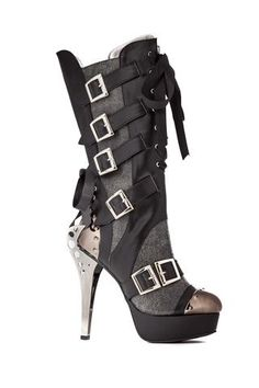 Hades Shoes Liv Black Boots - Unspoken Fashion  - 1