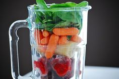 6-8 frozen strawberries