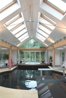 Private Pool and Spa building - contemporary - pool - other metro - by INSPIRATION Chartered Architects
