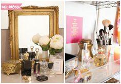 3 ideias para organizar seus perfumes