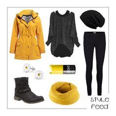 Blumen und Gelb bei regengrauen Wolken heitern dich und deine Bewunderer auf! | Stylefeed