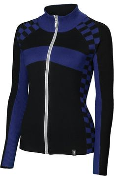 McKinsey: Charcoal ~ A Neve original, the McKinsey Full Zip Jacket protects you from a slight chill with the Performance Sports Blend fabrication.  The classic colors blend with a modern checkered pattern creating a sleek sporty silhouette.