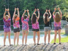 Tie dye always puts us in a summer kind of mood!