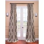 Compare best value Half Price Drapes Jakarta Khaki Printed Cotton Curtain. Off White Curtains, Curtains 1 Panel, Cotton Curtains, Rod Pocket Curtains, Window Panels, Window Coverings, Window Treatments, Curtain Styles, Curtain Designs