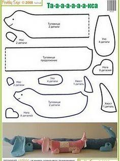 Artesanato Passo a Passo: Cachorros Vários Modelos; patterns