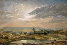 "radstudies: ""John Constable (English, 1776-1837) Branch Hill Pond, Hampstead Heath """