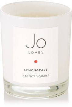 Jo Loves - Lemongrass Scented Candle, 185g - one size