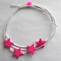 armband ster by simpel & leuk  make with leather!