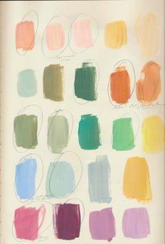 Colour Pallette, Colour Schemes, Color Combos, Color Patterns, What's My Favorite Color, Art Alevel, Color Test, Color Plan, Color Studies