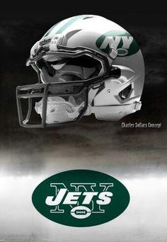 New York Jets helmet Charles Sollars concept