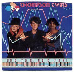 Thompson Twins Doctor Doctor records, LPs and CDs Glam Rock, 80s Music, Good Music, New Wave Music, Pop Internacional, Thompson Twins, Nurse Shark, Rock & Pop, 80s Pop