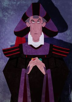 *JUDGE CLAUDE FOLLO ~ The Hunchback of Notre Dame, 1996