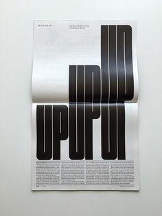 Print, editorial in Editorial Design